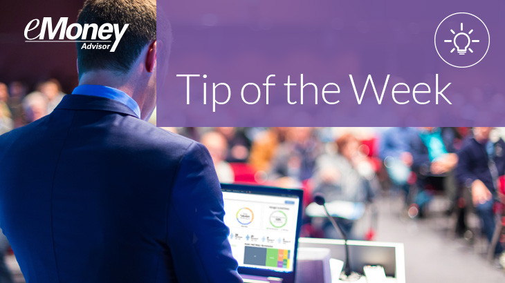 emoney tip of the week