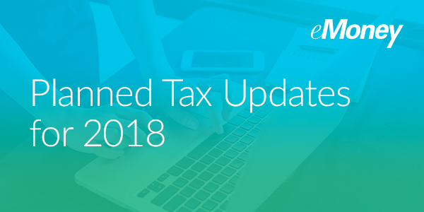 tax reform update 2018